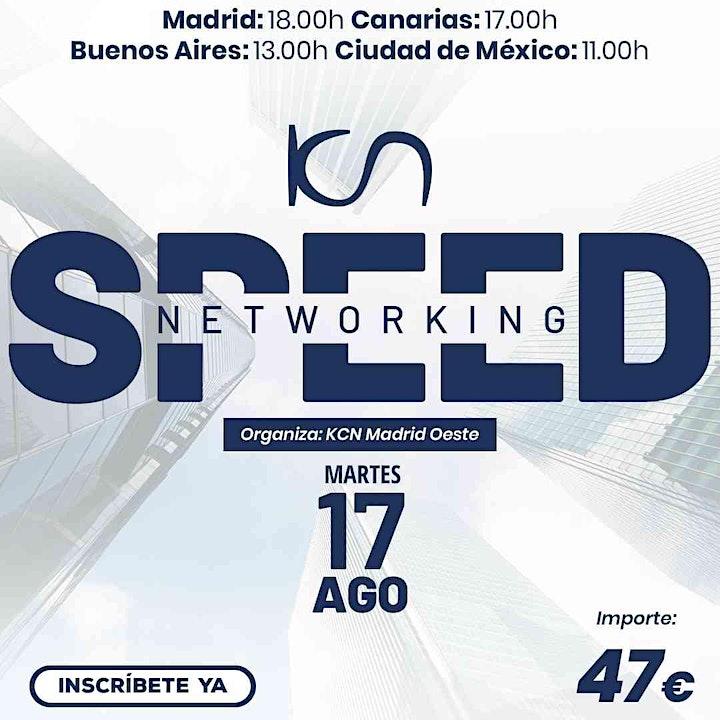 Imagen de KCN Madrid Oeste Speed Networking Online 17 Ago