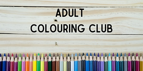 Adult Colouring Club tickets