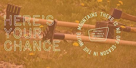Volunteer Level 1 Trail Maintenance Day: Mt. Garfield Trail tickets