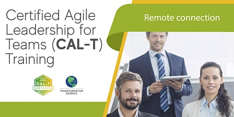 Certified Agile Leadership for Teams (CAL-T) Training tickets