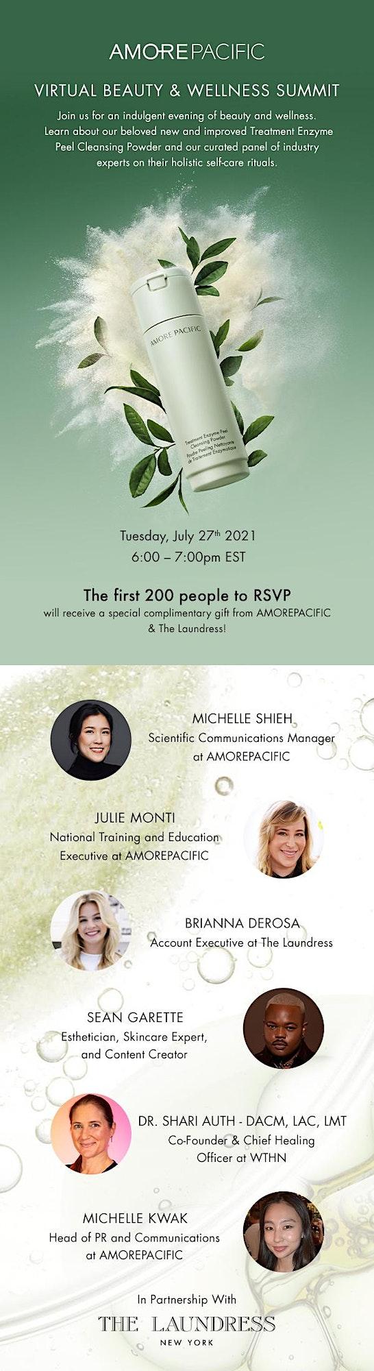 AMOREPACIFIC Beauty & Wellness Virtual Summit image