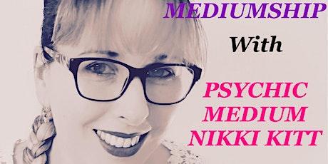 Evening of Mediumship with Nikki Kitt - Buckfastleigh tickets