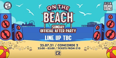 On The Beach - Brighton  (Sunday) - After Party Poster