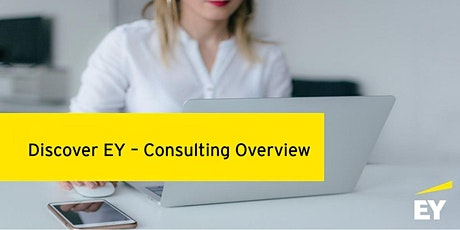 Discover EY - Consulting overview(French/English) tickets
