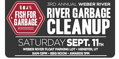 Weber River Cleanup tickets