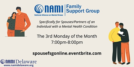 NAMI Delaware - Spouse/Partner Family Support Group Online tickets