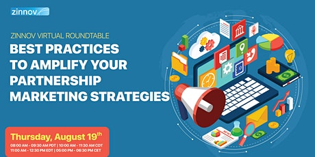 Best Practices To Amplify Your Partnership Marketing Strategies tickets