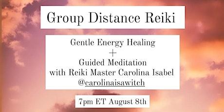 Online Group Distance Reiki tickets