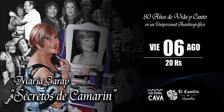 SECRETOS DE CAMARÍN - MARÍA GARAY EN EL CASTILLO DE SANDRO entradas