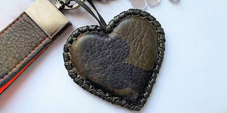 Digital Workshop: Make a Leather Key Chain With Jodi Cottongim tickets