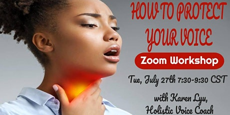 How to Protect Your Voice Zoom Workshop tickets