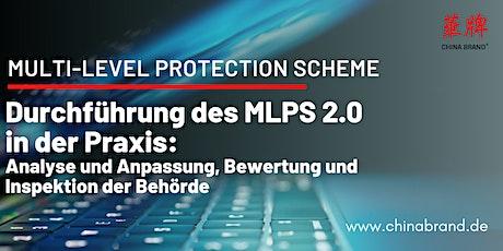 Durchführung des MLPS 2.0 – Analyse und Anpassung, Bewertung und Inspektion Tickets