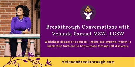 Breakthrough Conversations with Velanda tickets