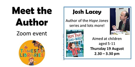 Meet the Author: Josh Lacey tickets
