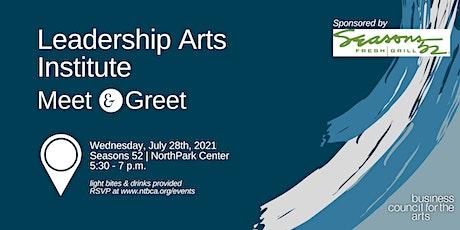 Leadership Arts Institute Meet & Greet tickets