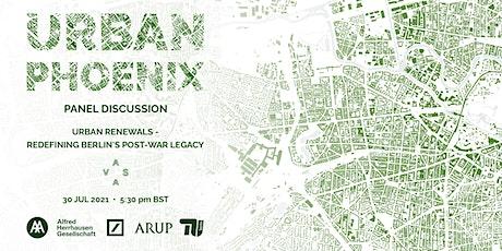 AAVS Urban Phoenix Berlin: Urban Renewals tickets
