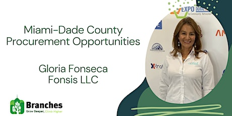Miami-Dade County Procurement Opportunities tickets