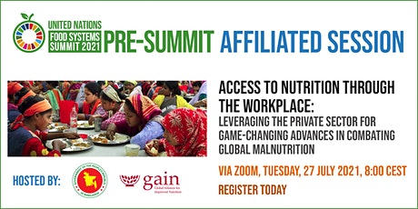 Access to nutrition through the workplace: leveraging the private sector tickets