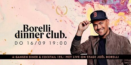 Borelli Dinner Club tickets