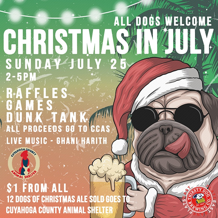Christmas in July - Thirsty Dog East Bank image