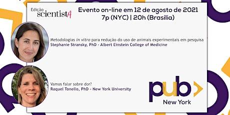 [PUB-NY] Evento Agosto/2021 - Stephanie Stransky & Raquel Tonello ingressos