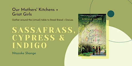 In Search of Sassafrass, Cypress and Indigo tickets