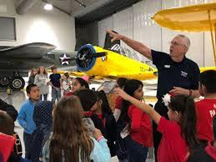 Register to attend GOE STEMFEST at the Lone Star Flight Museum image