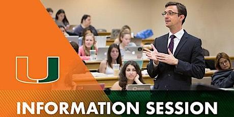 Miami Law Info Session & Campus Tour (In-Person Event) tickets