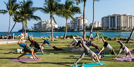Yoga & Tea Experience in Stunning South Pointe Park tickets