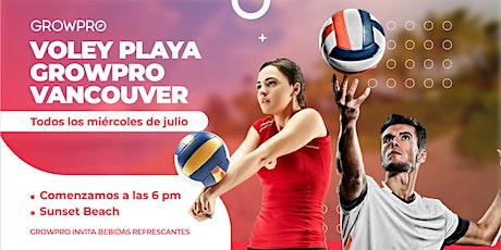 Volleyball con GrowPro tickets