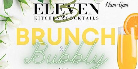 BRUNCH & BUBBLY @ 3ELEVEN DOWNTOWN DALLAS tickets