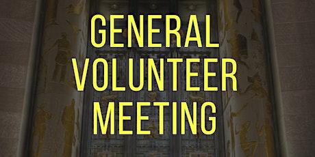 ULU Volunteer General Meeting tickets