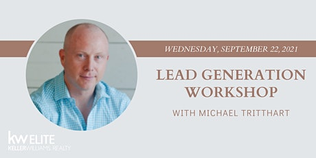 Lead Generation Workshop with Michael Tritthart tickets