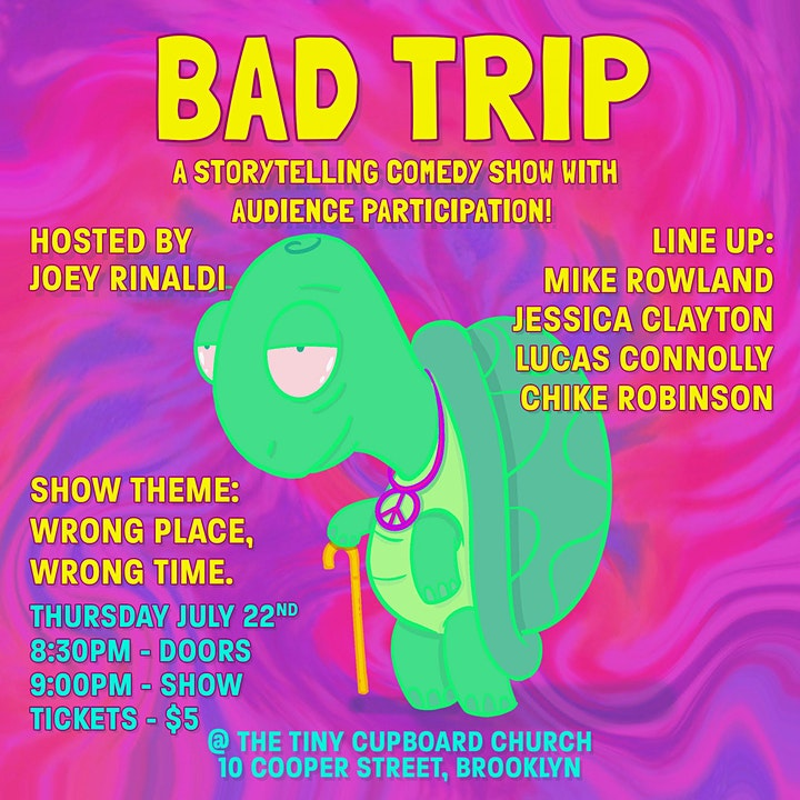 Bad Trip - a Storytelling Comedy Show image