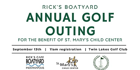 Rick's Boatyard Annual Golf Outing tickets