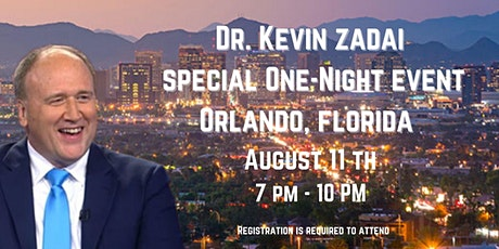 One night special  event with Dr. Kevin and Kathi Zadai in Orlando, Florida tickets