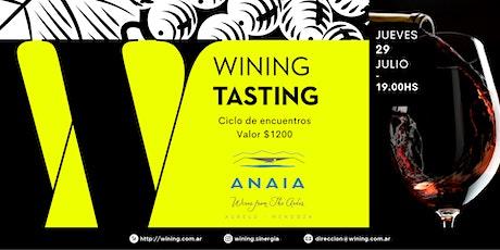 Wining Tasting #ANAIAWINES entradas