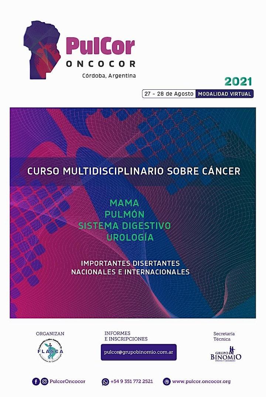 Imagen de PULCOR - ONCOCOR 2021 – Curso multidisciplinario sobre cáncer