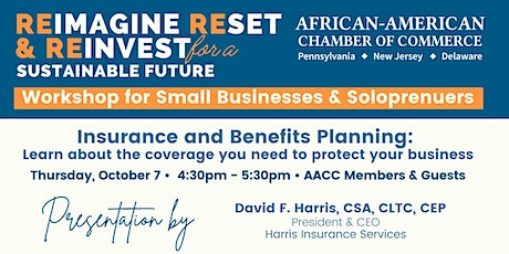 Insurance and Benefits Planning w. Harris Insurance Services tickets
