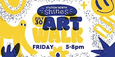 Station North Shines: July 30 Art Walk tickets