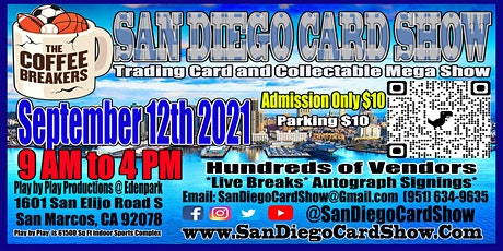 Coffee Breakers Presents the San Diego Card Show tickets
