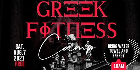 Greek Fitness Camp tickets