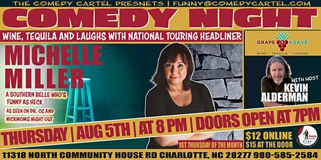 Wine, Tequila and Laughs Comedy Night tickets