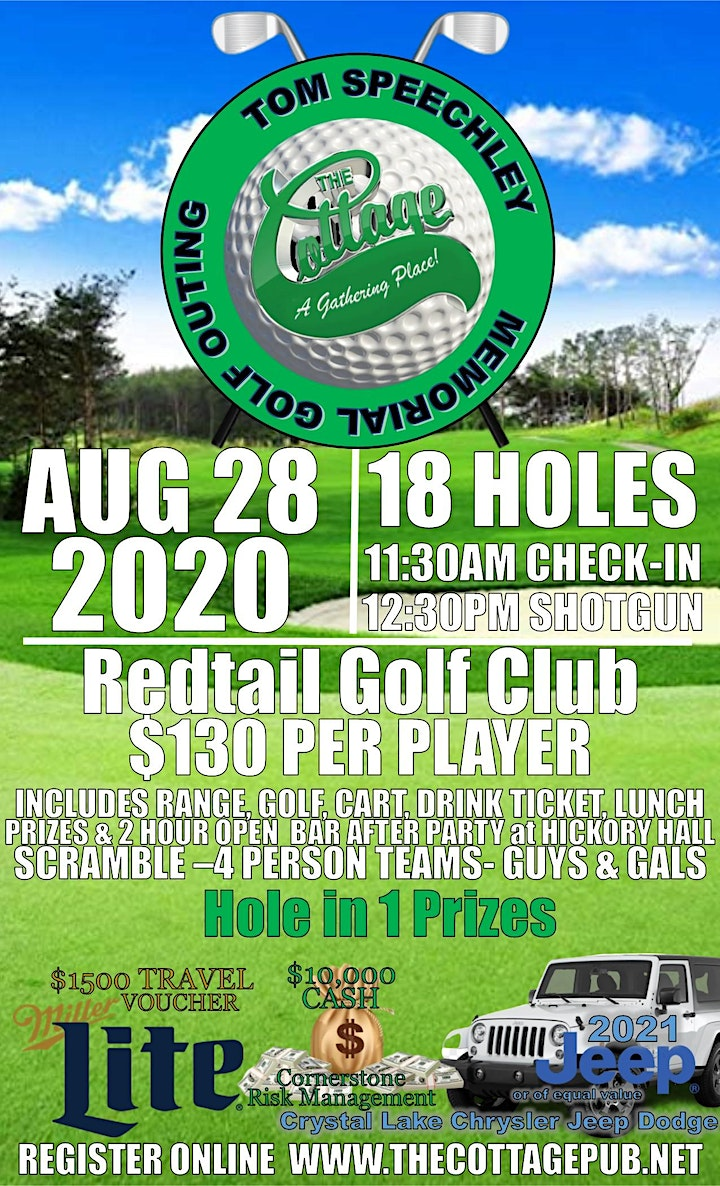 The Cottage Charity Golf Outing image