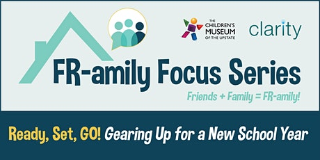 Fr-amily Night: Ready, Set, Go! Gearing up for a new  school year tickets