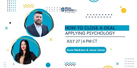 How to close a Deal applying psychology tickets