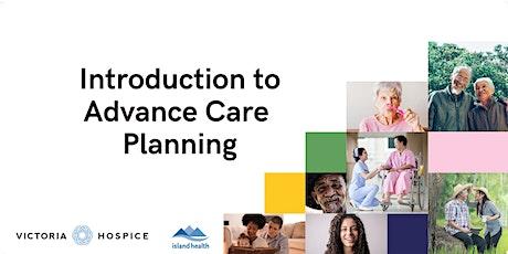 Advance Care Planning Workshop - October tickets