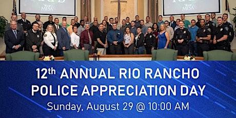 12th Annual Rio Rancho Police Appreciation Day tickets