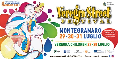 Veregra Street Festival 2021 - El Mêtre  - Jam biglietti