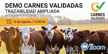 Demo Abierta de Plataforma Carnes Validadas Agosto 2021 boletos
